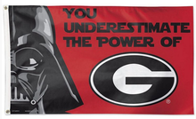 Load image into Gallery viewer, Georgia Bulldogs Star Wars Flag 3ft*5ft