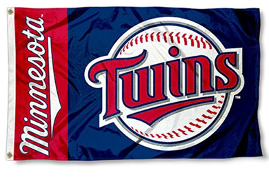 Minnesota Twins Sport Banner flag 3ftx5ft