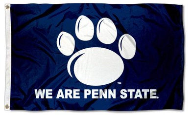 Penn State Nittany Lions We Are Banner Flag 3*5ft