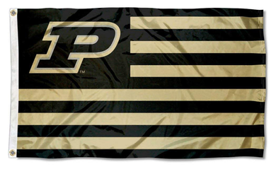 Purdue Boilermakers Stripes Nation Banner Flag 3*5ft