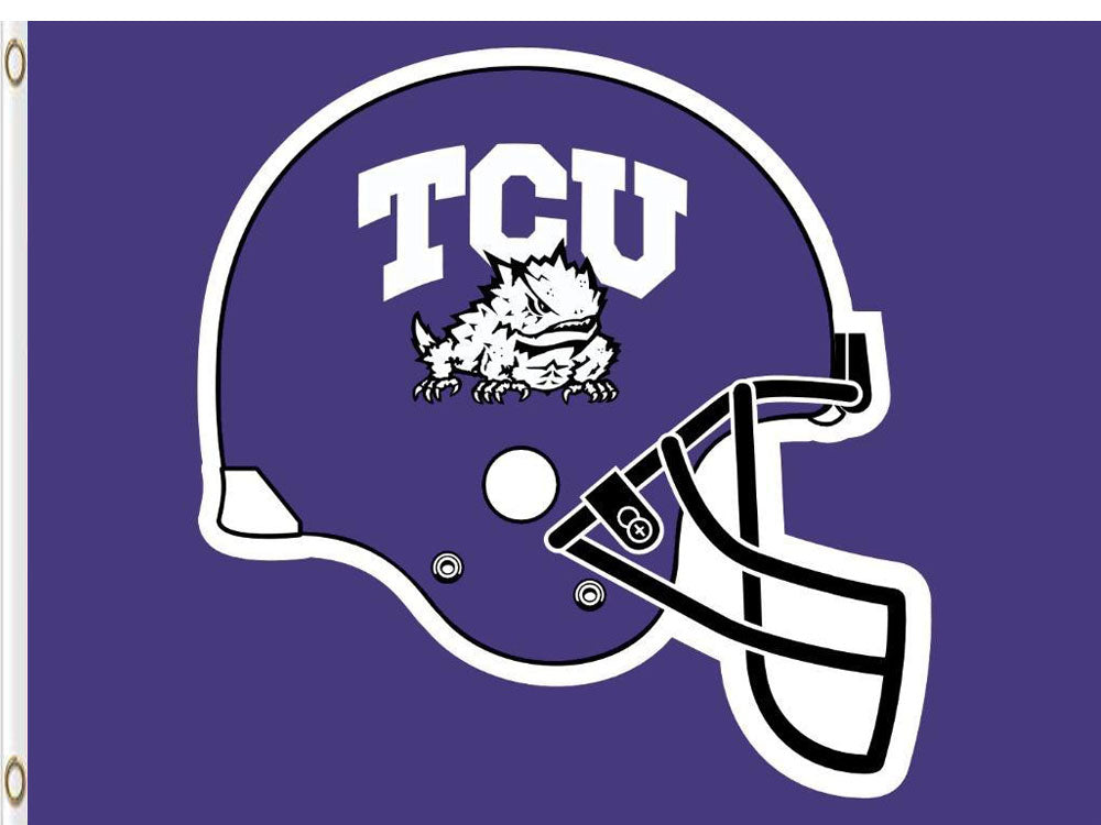 TCU Horned Frogs Digital Printing flag 90*150 CM