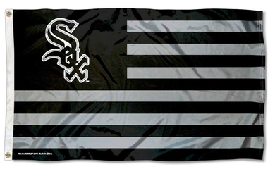 Chicago White Sox Black Nation Banner flags 3ftx5ft