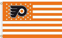Load image into Gallery viewer, Philadelphia Flyers flags 90x150cm with stripe and star