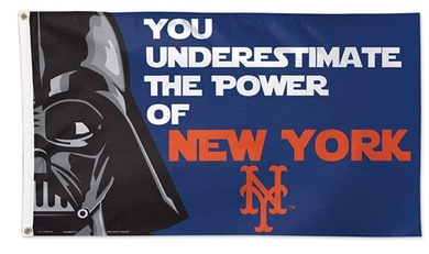 New York Mets Star Wars Banner flag 3ftx5ft