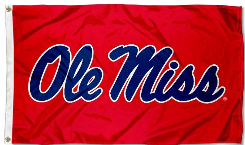 Mississippi Rebels Ole Miss Red Flag 90*150 CM