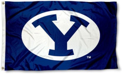 Brigham Young Cougars Falcons Banner Flag 3*5ft
