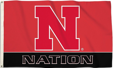 Nebraska Cornhuskers National Flag 3x5ft