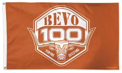 Texas Longhorns WinCraft Bevo 100th Anniversary Flag 3x5FT