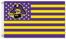 Load image into Gallery viewer, East Carolina Pirates Banner Flag 3*5ft