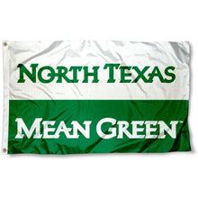 Load image into Gallery viewer, North Texas Mean Green College Flag 3x5 ft