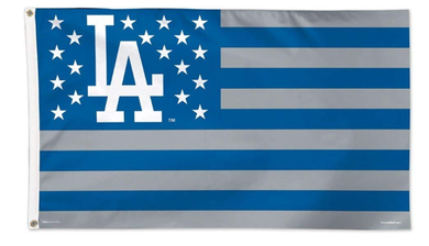 Los Angeles Dodgers Star Banner flag 3ftx5ft
