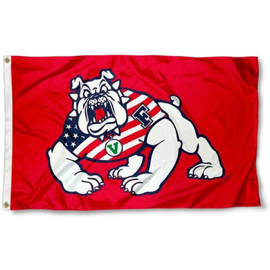 Fresno State Bulldogs Flag 3ft*5ft