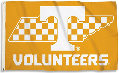 Tennessee Volunteers Banner State Outline Flag 3*5ft