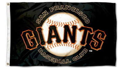 San Francisco Giants Baseball Club Black Banner flags 90x150cm