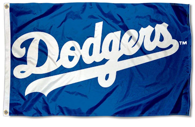 Los Angeles Dodgers Logo Banner flag 3ftx5ft