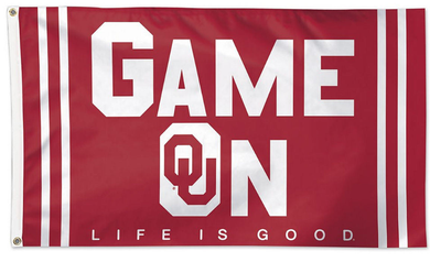 Oklahoma Sooners Game On Banner Flags 3*5ft