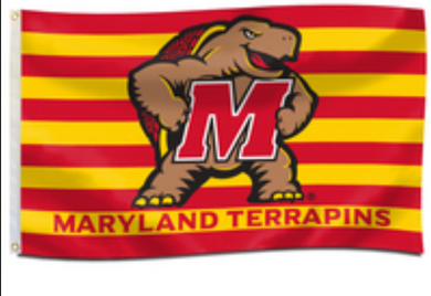 Maryland Terrapins Banner Flag 3ft*5ft