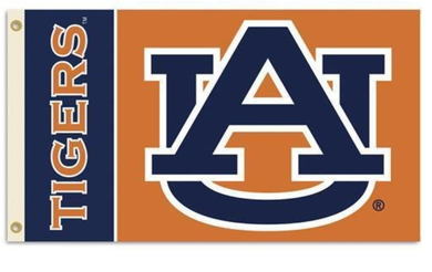 Auburn Tigers University Banner Flag 3*5ft