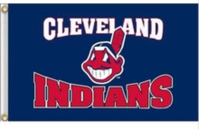 Cleveland Indians Banner flags 3ftx5ft