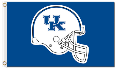 Kentucky Wildcats Helmet Banner Flag 3*5ft
