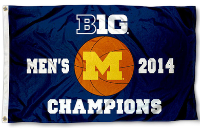 Michigan Wolverines 2014 Big Ten Champs Flag 3x5ft