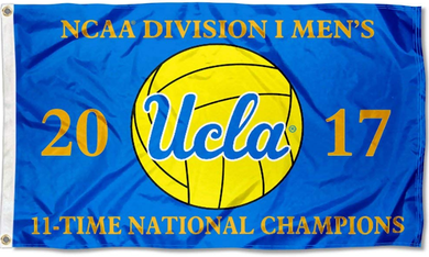 UCLA Bruins 2017 Water Polo 11 Time Champions Flag 3*5ft