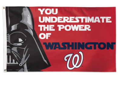Washington Nationals Star Wars Banner flag 3ftx5ft