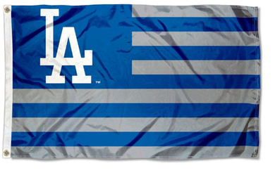 Los Angeles Dodgers Nation Banner flag 3ftx5ft