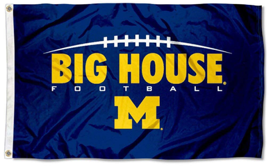 Michigan Wolverines Big House Football Flag 90*150 CM