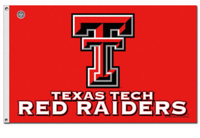 Texas Tech Red Raiders Banner Flag 3ft*5ft