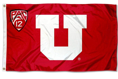 Utah Utes Football PAC 12 Banner flag 3x5ft
