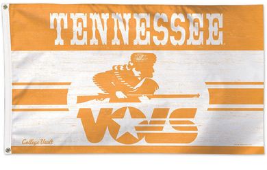 Tennessee Volunteers Vintage Large Banner Flag 3*5ft