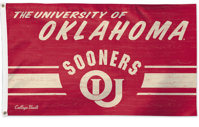 Oklahoma Sooners Throwback Vintage Banner Flags 3*5ft