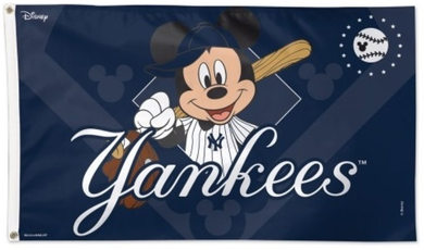 New York Yankees Disney Flag 3ft x 5ft