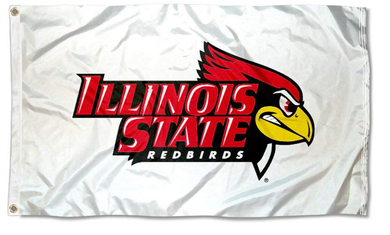Illinois State Redbirds University Large Flags Banners 3*5ft