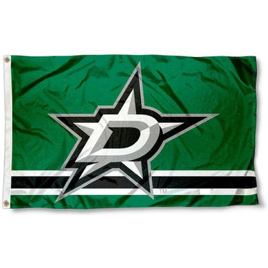 Dallas Stars Polyester flag 3x5 ft 100D