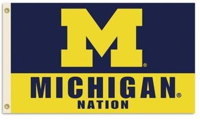 Michigan Wolverines National Banner Flag 90*150 CM