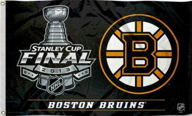 Boston Bruins 2013 Stanley Cup Finals Flag 3x5 ft