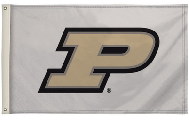 Purdue Boilermakers White Football Banner Flag 3*5ft