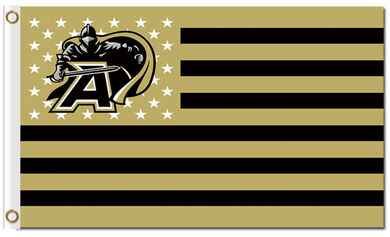 Army Black Knights Star and Stripes Banner Flag 3*5ft