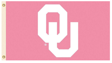 Oklahoma Sooners Pink Sports Flags 3*5ft