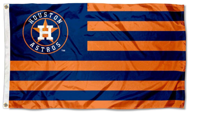 Houston Astros Stars and Stripes Nation Banner flags 3ftx5ft