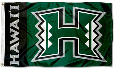 Hawaii Warriors  Rainbows University Flags Banners 3*5ft