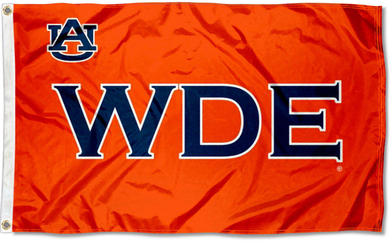 Auburn Tigers Wde Logo Banner Flag 3*5ft