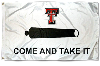 Texas Tech Red Raiders Come and Take It Banner Flag 3ft*5ft
