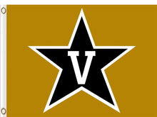 Load image into Gallery viewer, Vanderbilt Commodores sports team flag 90*150CM