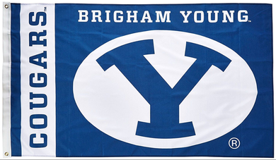 Brigham Young Cougars Banner University Flag 3*5ft
