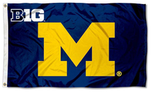 Load image into Gallery viewer, Michigan Wolverines Big University Banner Flag 90*150 CM