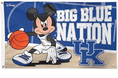 Kentucky Wildcats Big Blue Nation Disney Banner Flag 3*5ft