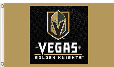 Vegas Golden Knights New Design Flags 3x5ft